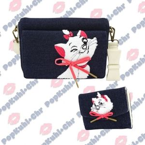 Loungefly x The Aristocats Marie Bag & Wallet Set